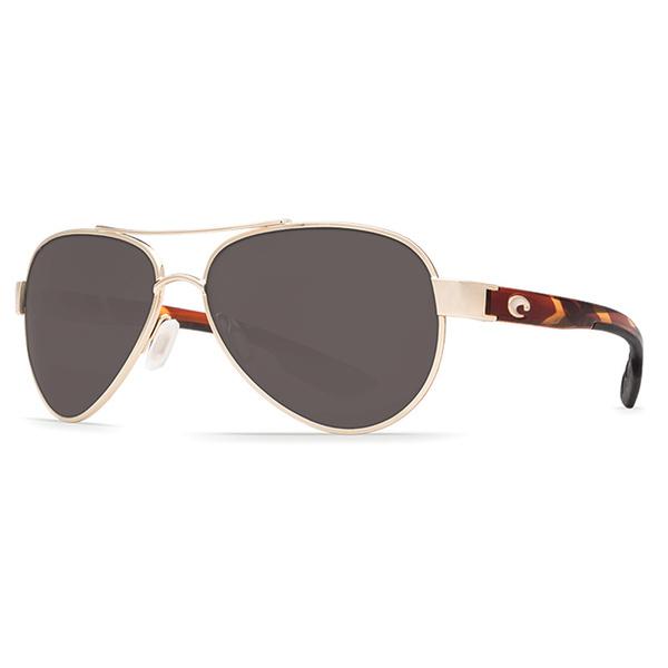 Costa Loreto Sunglasses, Rose/Gold Frames with Gray 580P Lenses Rose Gold/dark Gray Sale $199.00 SKU: 16302267 ID# LR 64 OGP UPC# 97963526869 :