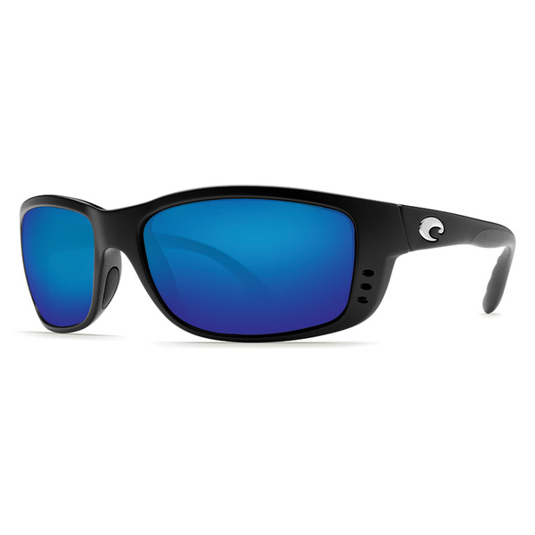 Costa Zane Sunglasses, Black Frames with Black/blue Mirror 580P Lenses Sale $179.00 SKU: 16302309 ID# ZN 11 OBMP UPC# 97963535168 :