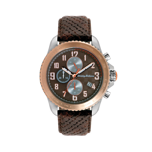 Tommy Bahama Rose Gold Kona Grand Prix Watch