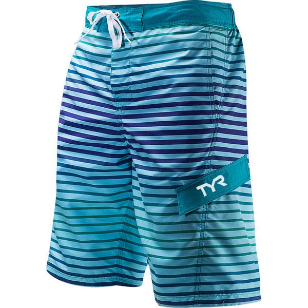 TYR Men's Springdale Sunset Stripe Boardshorts Blue Sale $12.55 SKU: 16322737 ID# SBSU5A-441-M UPC# 36702104166 :