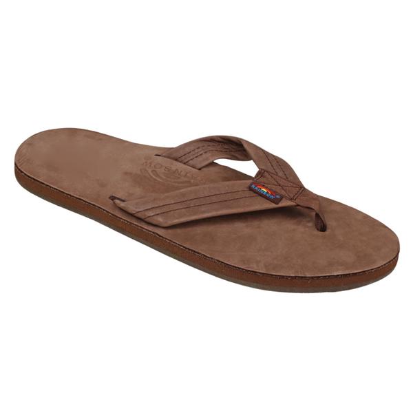 4eae2890d55b Rainbow Sandals Men s Single Layer Brown Small (7.5 - 8.5 M US ...