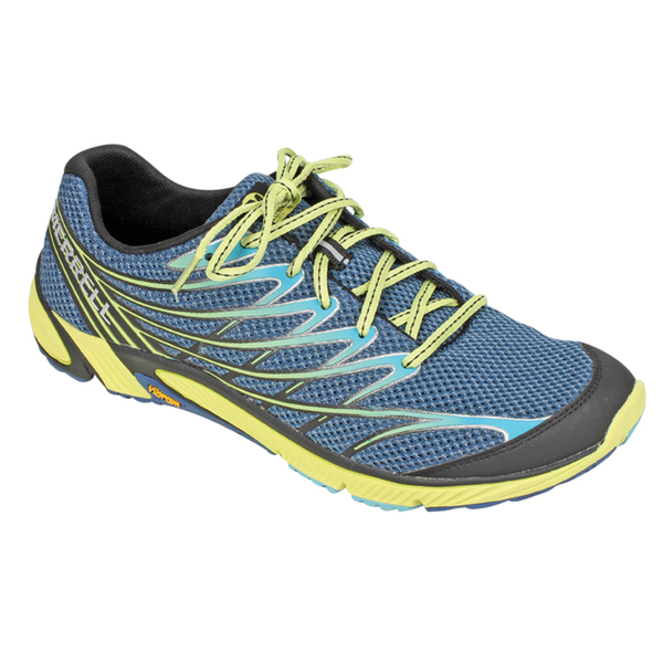 Merrell Men's Bare Access 4 Shoes Blue/yellow
