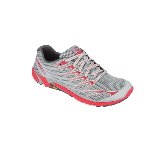 Merrell Women's Bare Access Running Shoe Gray/geranium
