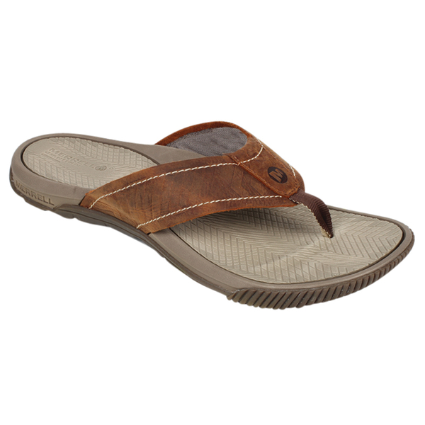 Merrell Men's Terracove Jet Flip-Flops Brown