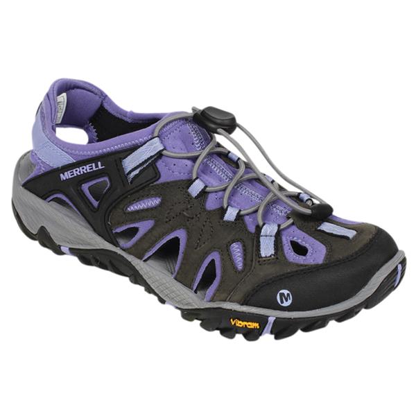 Merrell Women's All Out Blaze Sieve Shoes Black/purple