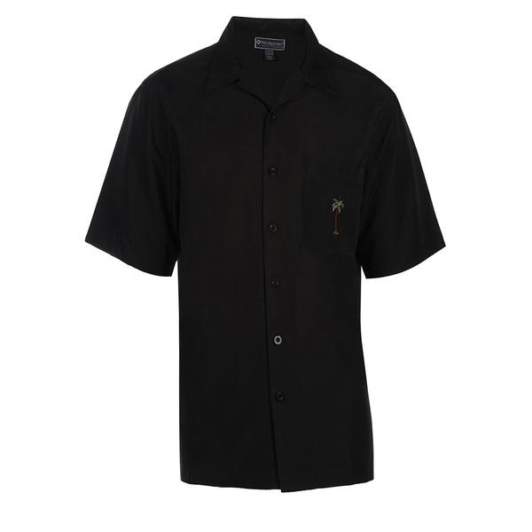 Weekender Mens Palmita Shirt Black