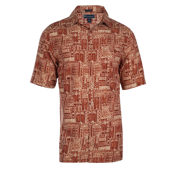 Weekender Mens Tropic Grove Shirt Paprika Sale $78.00 SKU: 16423998 ID# M031409 545 M :