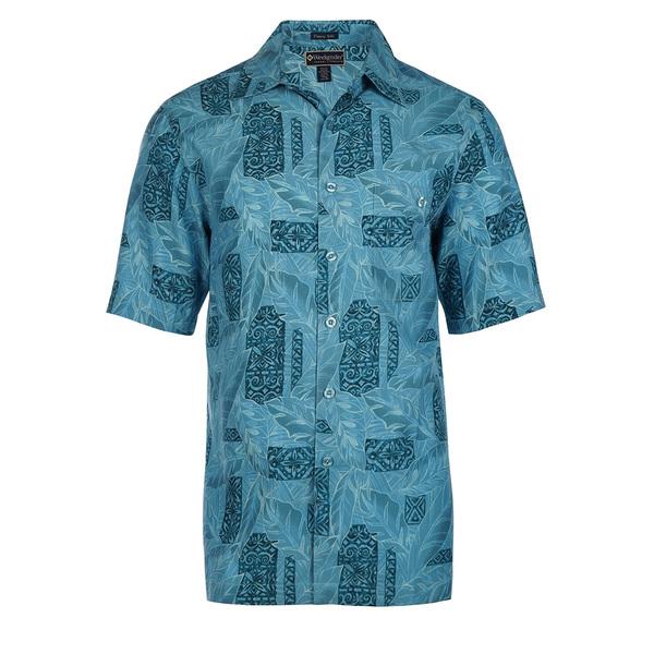 Weekender Mens Montego Bay Shirt Blue