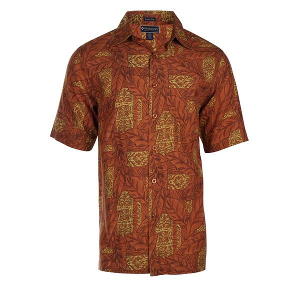 Weekender Mens Montego Bay Shirt Terra Cotta Sale $78.00 SKU: 16424046 ID# M031414 555 L :