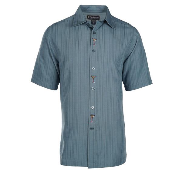 Weekender Mens Mar3ni Shirt Blue Sale $78.00 SKU: 16424335 ID# M031428 201 L :
