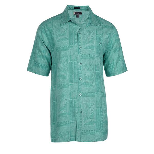Weekender Mens Sandy Lane Shirt Green Sale $78.00 SKU: 16425126 ID# M031445 435 M :