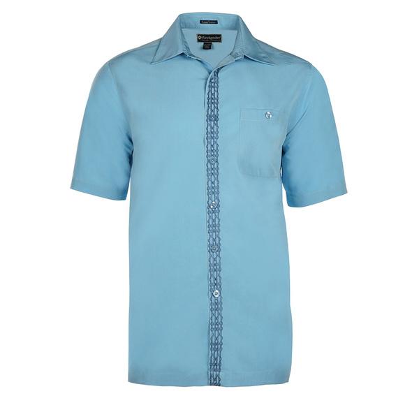 Weekender Mens The Bali Way Shirt Blue