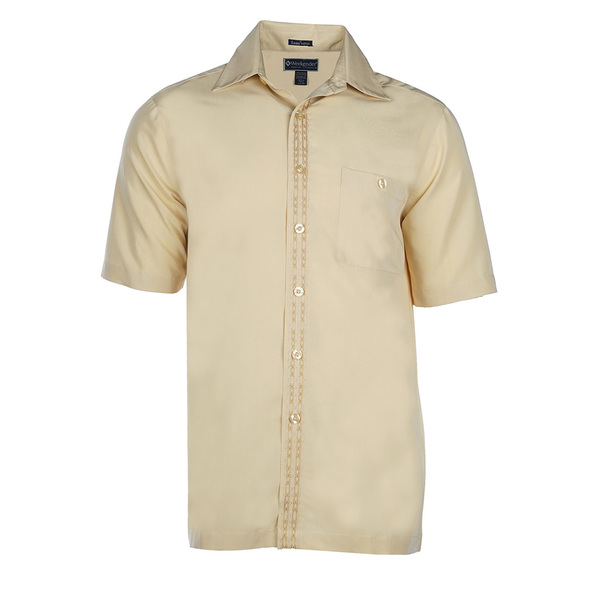 Weekender Mens The Bali Way Shirt Yellow