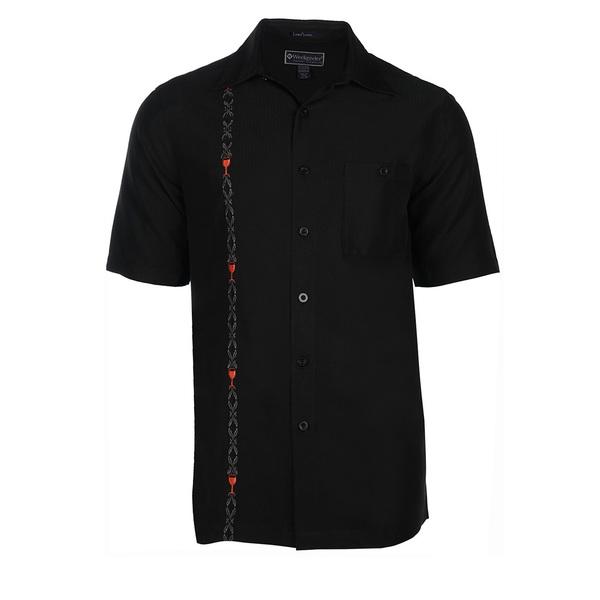 Weekender Mens Red Red Wine Shirt Black