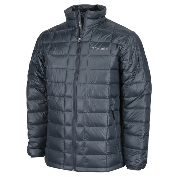 Columbia Men's Trask Mountain 650 TurboDown Jacket Gray