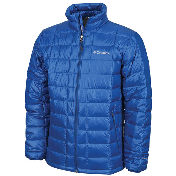Columbia Men's Trask Mountain 650 TurboDown Jacket Blue