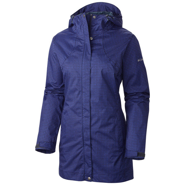 Columbia Women's Splash A Little Rain Jacket Blue