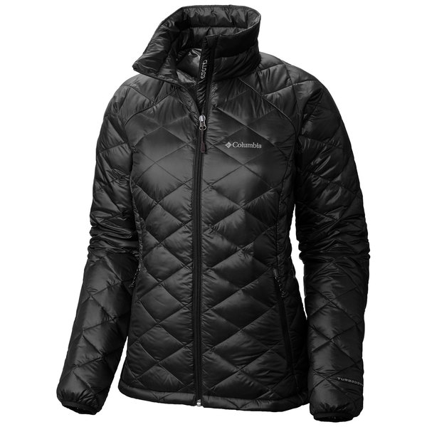 Columbia Women's Trask Mountain 650 TurboDown Jacket Black Sale $170.00 SKU: 16473977 ID# WL1052-010-XL UPC# 888664448785 :