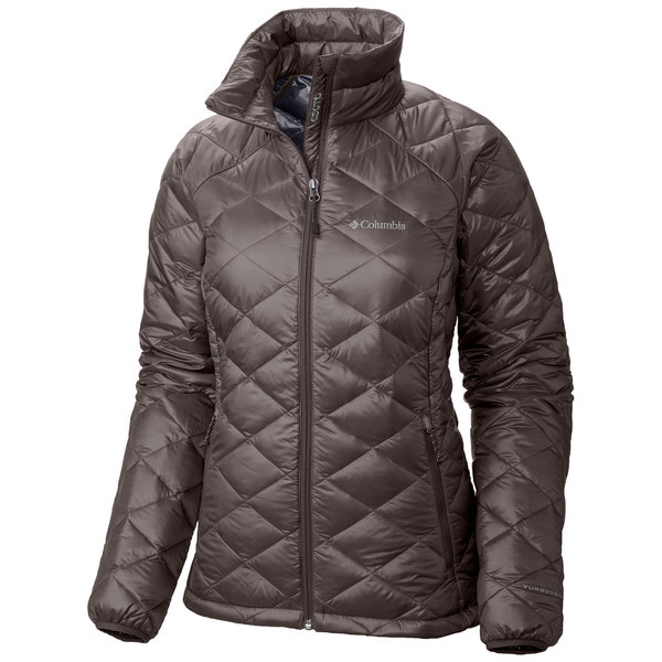 Columbia Women's Trask Mountain 650 TurboDown Jacket Mineshaft