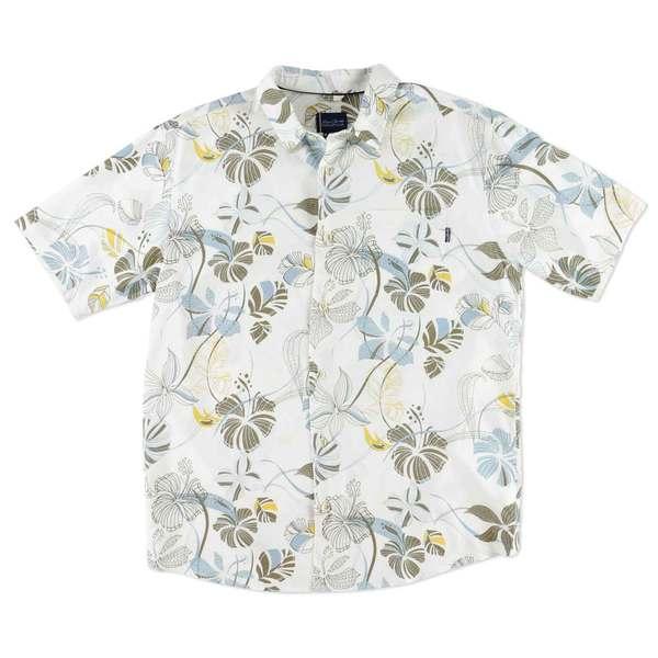 O'neill Men's Costa Short Sleeved Woven Shirt Brown