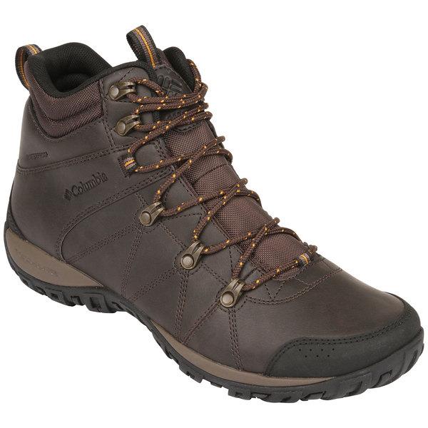 Columbia Men's Peakfreak Venture Mid Waterproof Omni-Heat Boots Cordovan/caramel