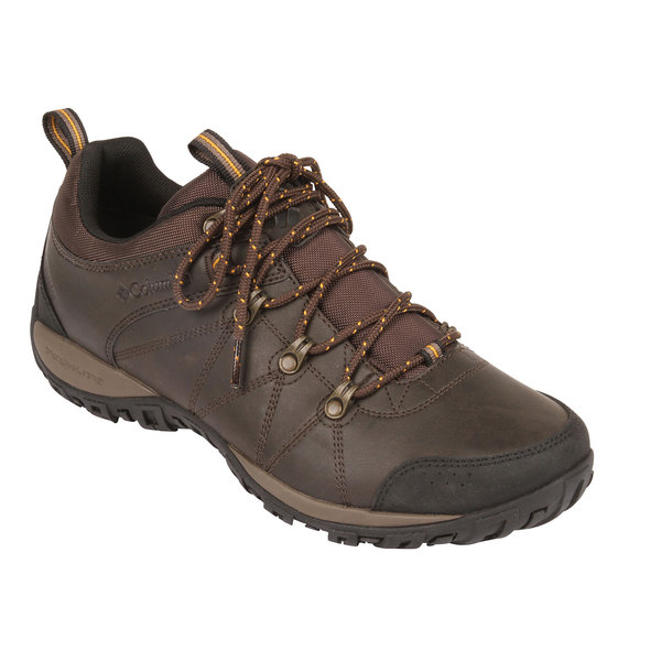 Columbia Men's Peakfreak Venture Waterproof Omni-Heat Shoes Cordovan/squash