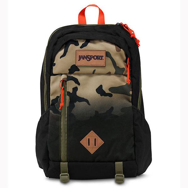 Jansport Black Camo Fade Fox Hole Backpack