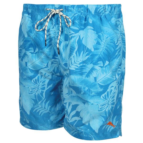 Tommy Bahama Men's Naples Leaf it To Me Swim Trunks Blue