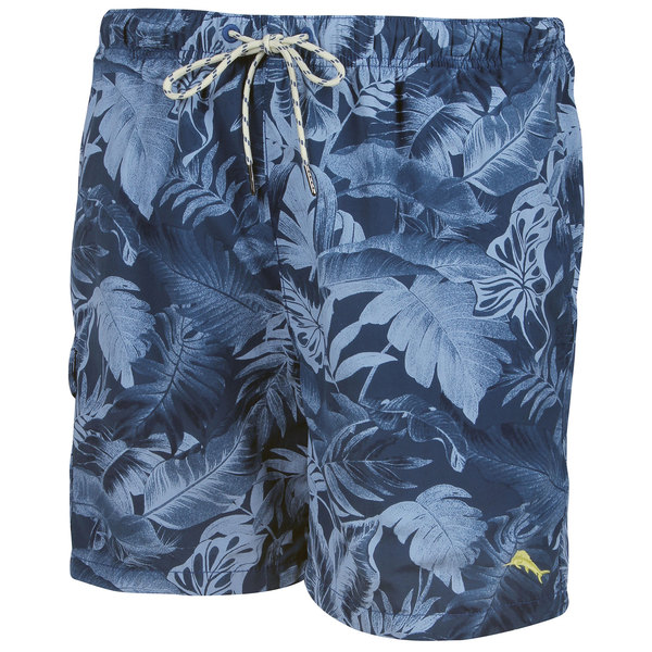 Tommy Bahama Men's Naples Leaf it To Me Swim Trunks Navy