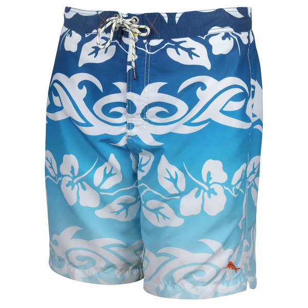 Tommy Bahama Men's Baja Breaker Swim Trunks Navy