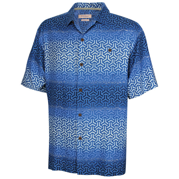 Tommy Bahama Men's Coral Tide Camp Shirt Blue Sale $88.50 SKU: 16483406 ID# T311825-2418-L UPC# 23798295595 :
