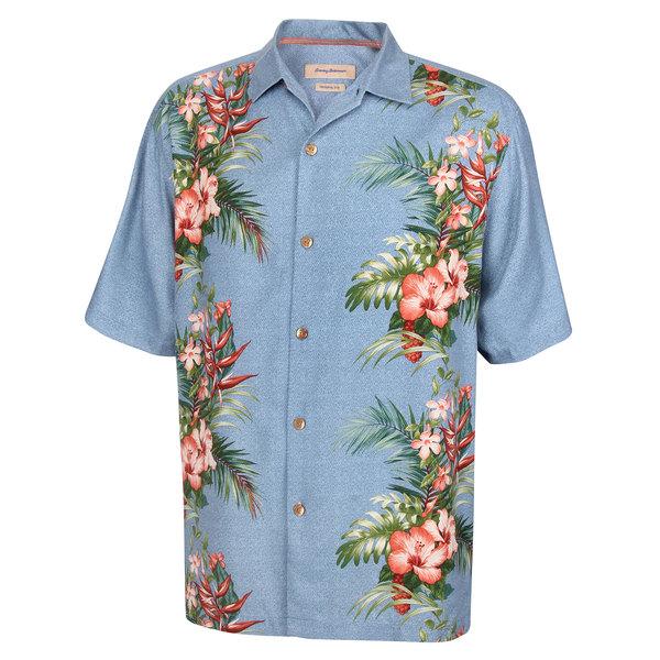 Tommy Bahama Men's Leilani Vines Camp Shirt Blue Sale $88.50 SKU: 16483505 ID# T311827-2806-2X UPC# 23798295793 :