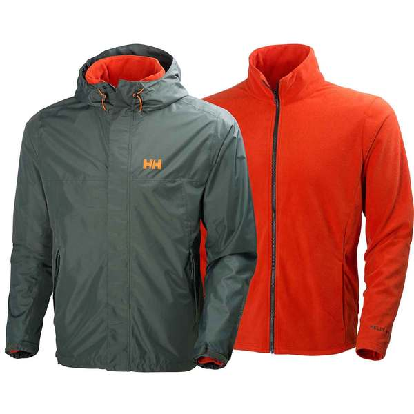 Helly Hansen Men's Hustad CIS 3 in 1 Jacket Rock Sale $190.00 SKU: 16496325 ID# 62467-899-M UPC# 7040054436496 :