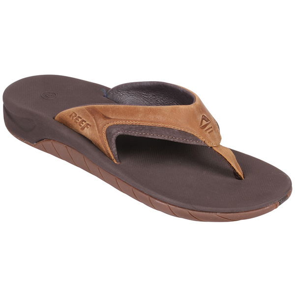 Reef Men's Leather Slap II Sandals Brown Sale $52.00 SKU: 16497398 ID# RF002510DAB6528 UPC# 766182183893 :