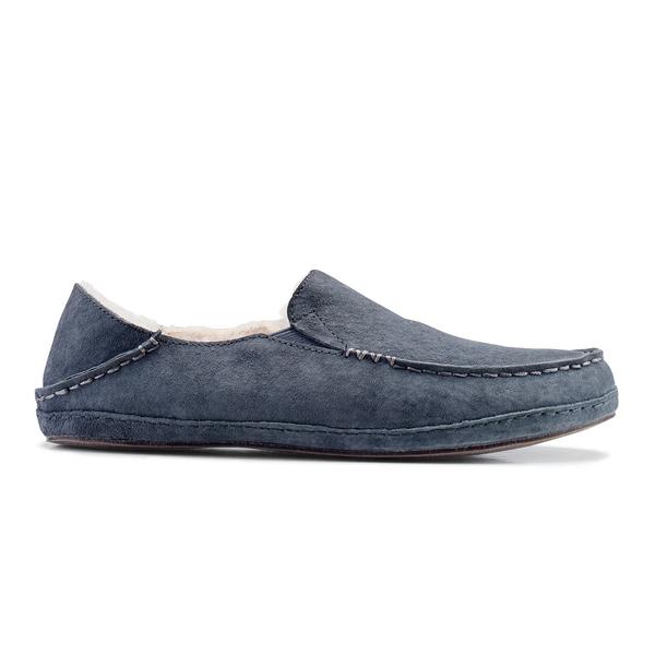 Olukai Women's Nohea Slippers Dark Shadow Sale $120.00 SKU: 16501538 ID# 20269-1288-7 UPC# 883956192193 :