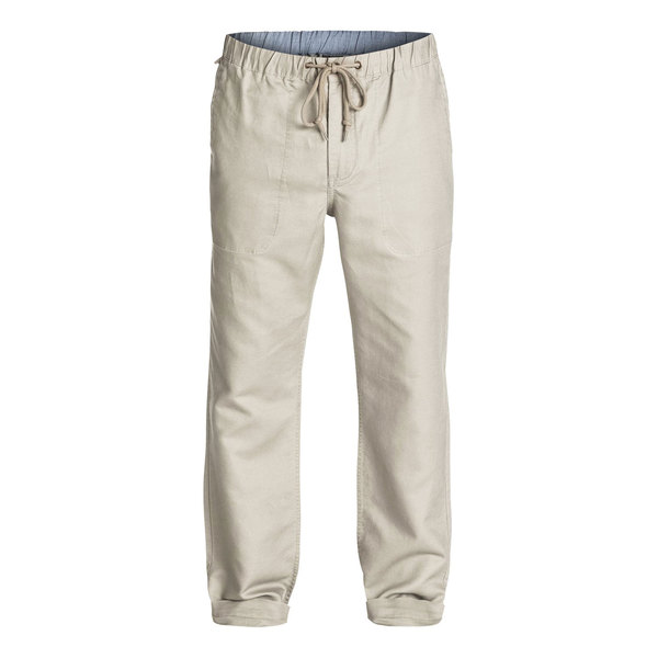 Quiksilver Men's Antigua Linen Pants Laurel Oak