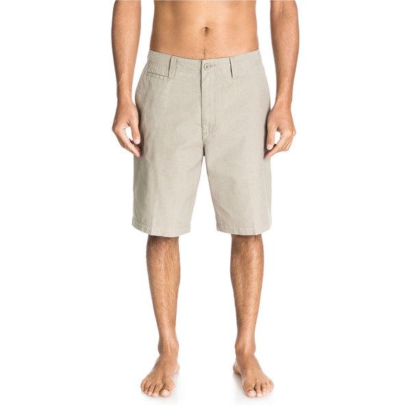 Quiksilver Men's Montego Plaid Shorts Laurel Oak