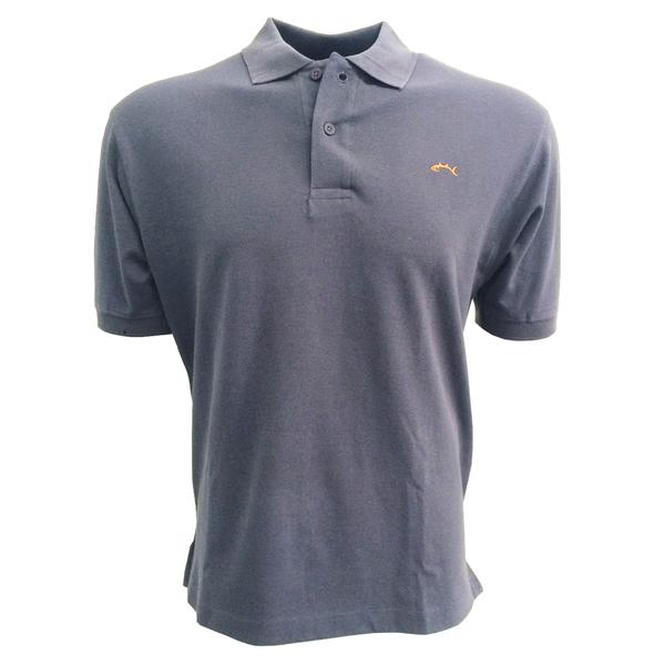 Bluefin Men's Classic Polo Gray