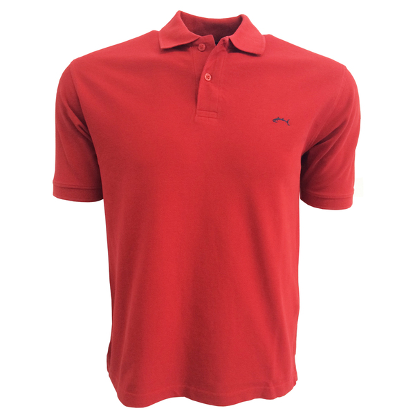 Bluefin Men's Classic Polo Red