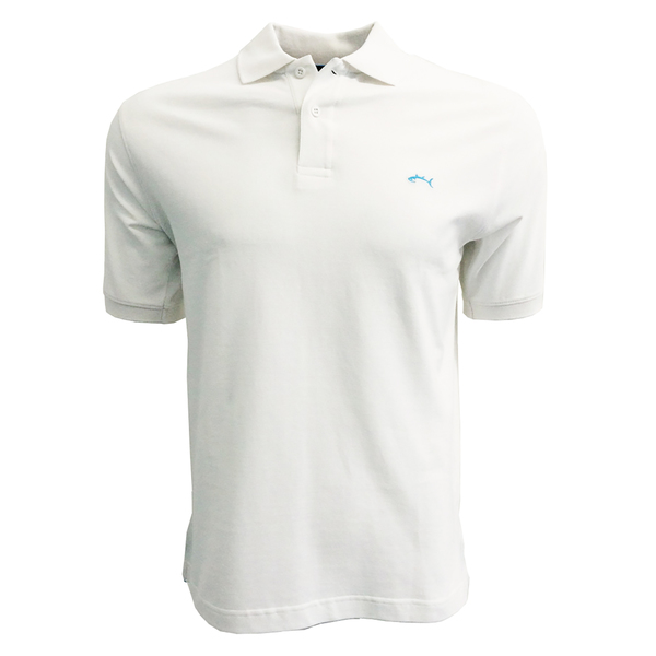 Bluefin Men's Classic Polo White