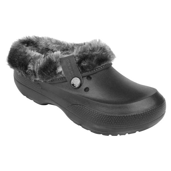 Crocs Men's Blitzen II Luxe Clogs Black/gray