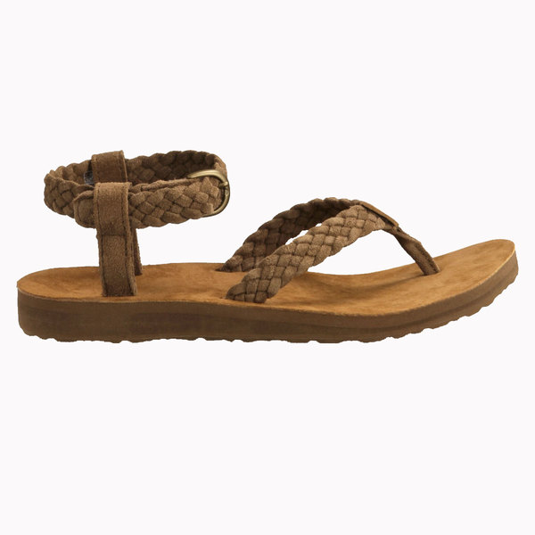 Teva Original Sandal Suede Braid Brown Sale $70.00 SKU: 16523045 ID# 1008676-966-9 UPC# 888855293071 :