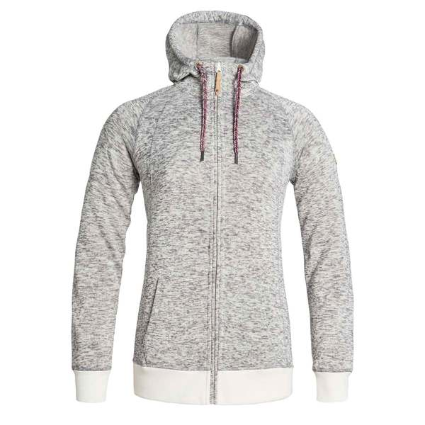 Roxy Women's Resin Knit Hoodie Egret Sale $67.46 SKU: 16535338 ID# RJFT03111WBS0S UPC# 888701295198 :