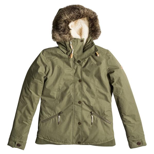 Roxy Women's Steffi JK Trench Jacket Dusty Olive