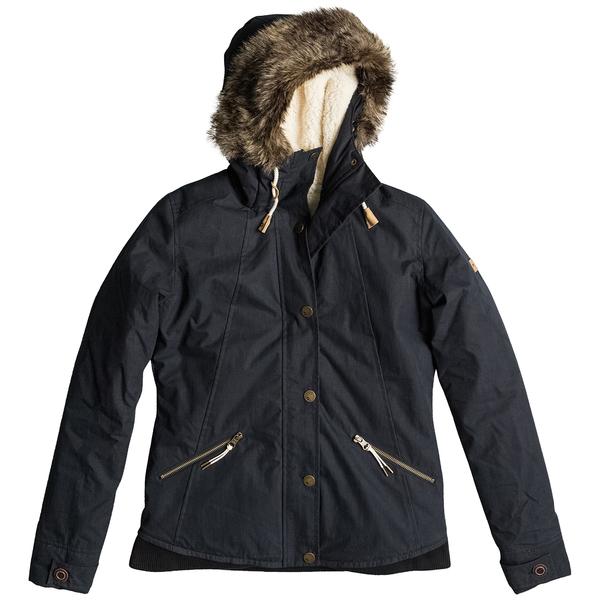 Roxy Women's Steffi JK Trench Jacket Black