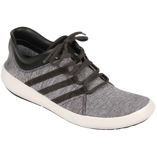 Adidas Men's Satellize Shoes Dk Grey Htr/wt/blk Sale $80.00 SKU: 16543001 ID# B25288-5-9.5 UPC# 888597349685 :