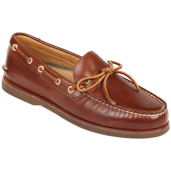 Sperry Gold Cup Authentic Original 1-Eye Boat Shoes Tan/brown