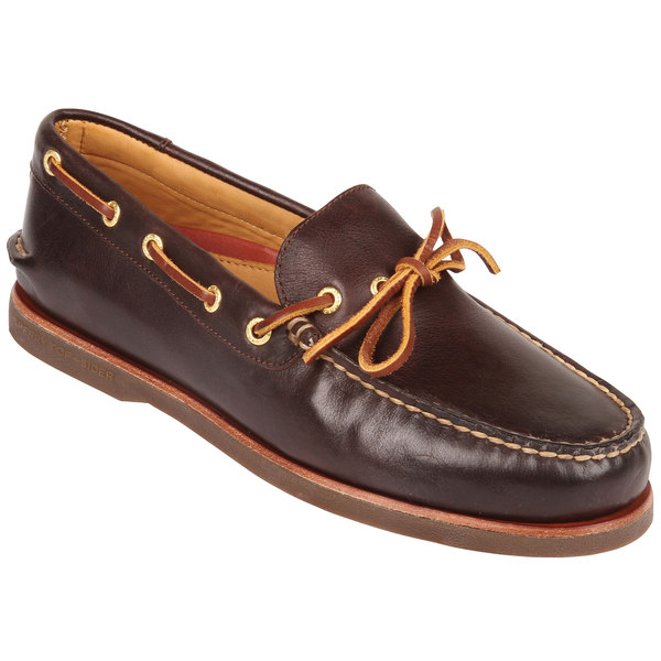 Sperry Men's Gold Cup Authentic Original 1-Eye Boat Shoes Brown