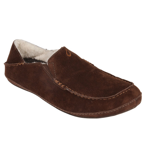 Olukai Men's Moloa Slipper Dark Java Sale $120.00 SKU: 16561987 ID# 10252-2850-10 UPC# 883956185058 :