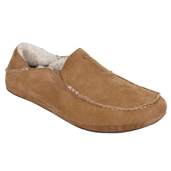 Olukai Men's Moloa Slipper Brown Sale $120.00 SKU: 16561920 ID# 10252-1324-10 UPC# 883956185133 :